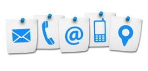 contact us icons mail phone email cell pin