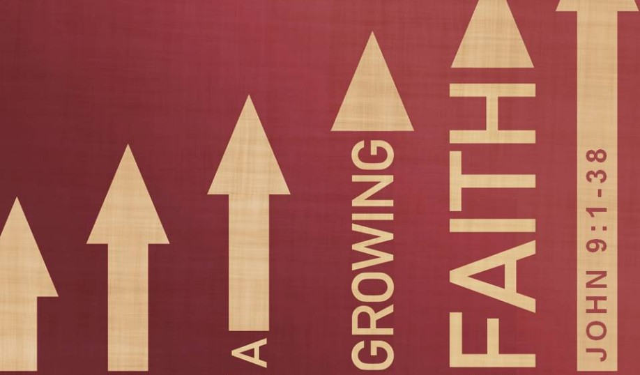 adult classes Arrows up growing faith John 9:1-36